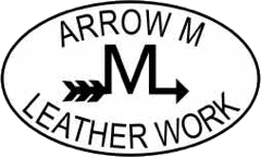 Arrow M Leather Work logo
